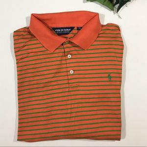 Ralph Lauren Polo Gold Orange green stripe XL